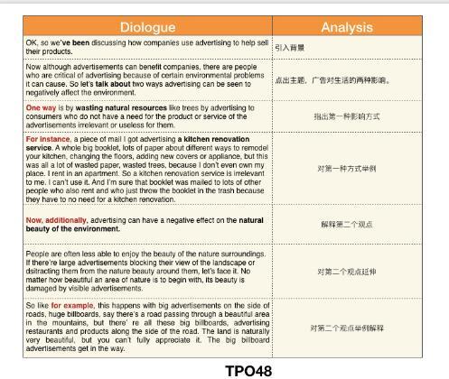 托福口语TASK4分析,原来并不难